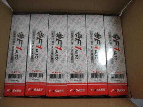 FA5655 1 CASE OF 6PCS TOYOTA SCION AIR FILTER COROLLA MATRIX 2009 2010 2011