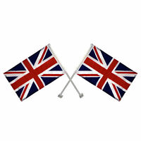 192 x Union Jack Window Car Flags United Kingdom Great Britain England Joblot