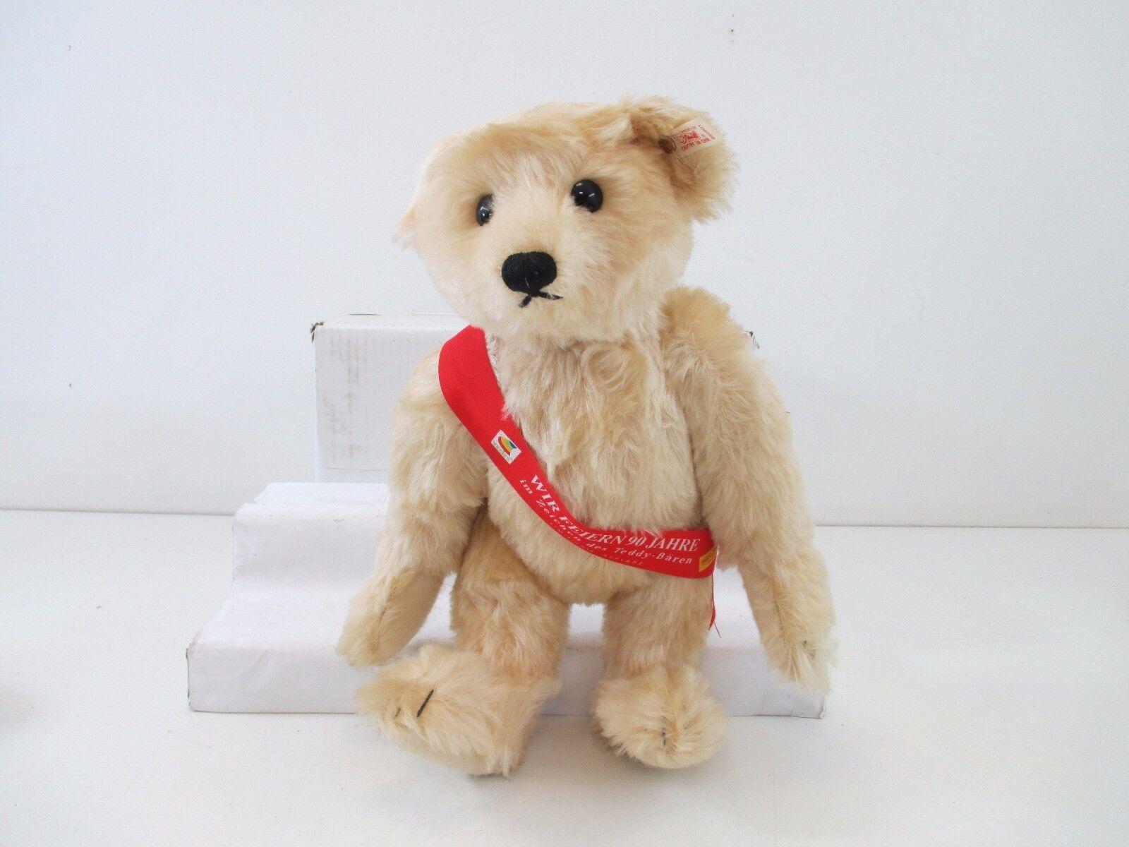 Steiff 650901 Jubiläums Teddy  40 cm mit Brummstimme Lim. Auflage ST645