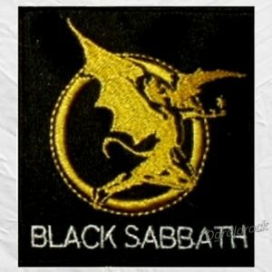 black sabbath devil logo word embroidered patch rock ozzy osbourne tony lommi ebay ebay