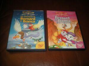 LOT-2-DVD-DISNEY-LOSANGE-N-26-BERNARD-ET-BIANCA-N-35-AU-PAYS-DES-KANGOUROUS