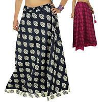 Indien Vêtements Femmes Coton Vêtements De Plage Jupe Hippie Boho Dentelle
