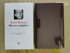 La Pléiade Henri Michaux Œuvres complètes tome I 1998