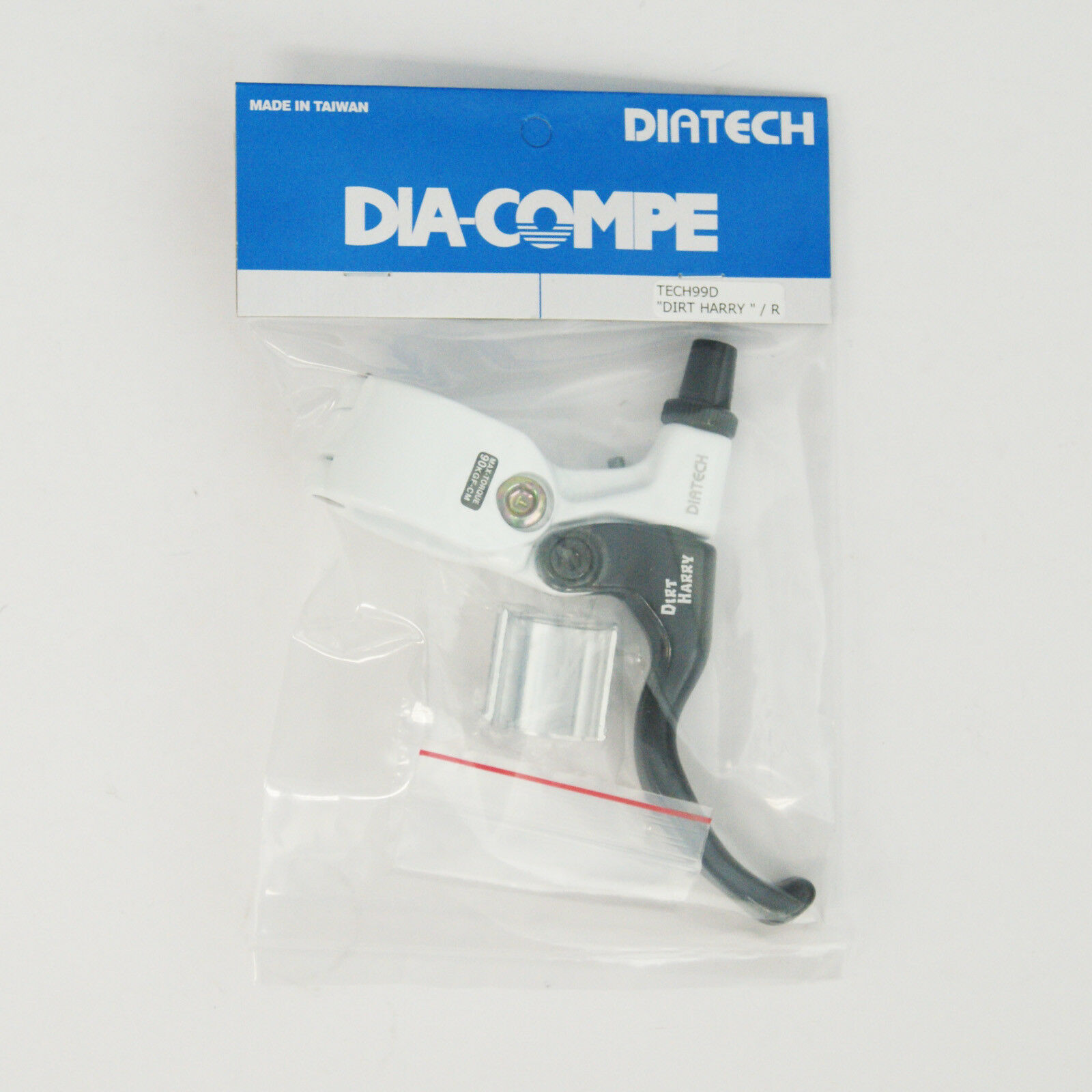 DIA-COMPE TECH99D DIRT HARRY Brake Lever (Right Only) White