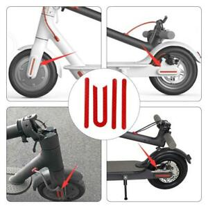 Details about Wheel Cover Case Protective Shell Reflective Sticker M365  Electric Scooter Parts