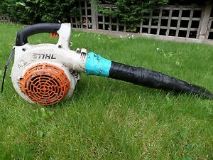 Stihl bg85 petrol leaf blower pre bg86 c ebay image is loading stihl bg85 petrol leaf blower pre bg86 c publicscrutiny Choice Image