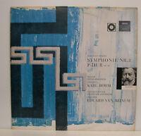 "BRAHMS SYMPHONIE NR.3 F-DUR OP.90 BÖHM VAN BEINUM 12""LP (e368)"