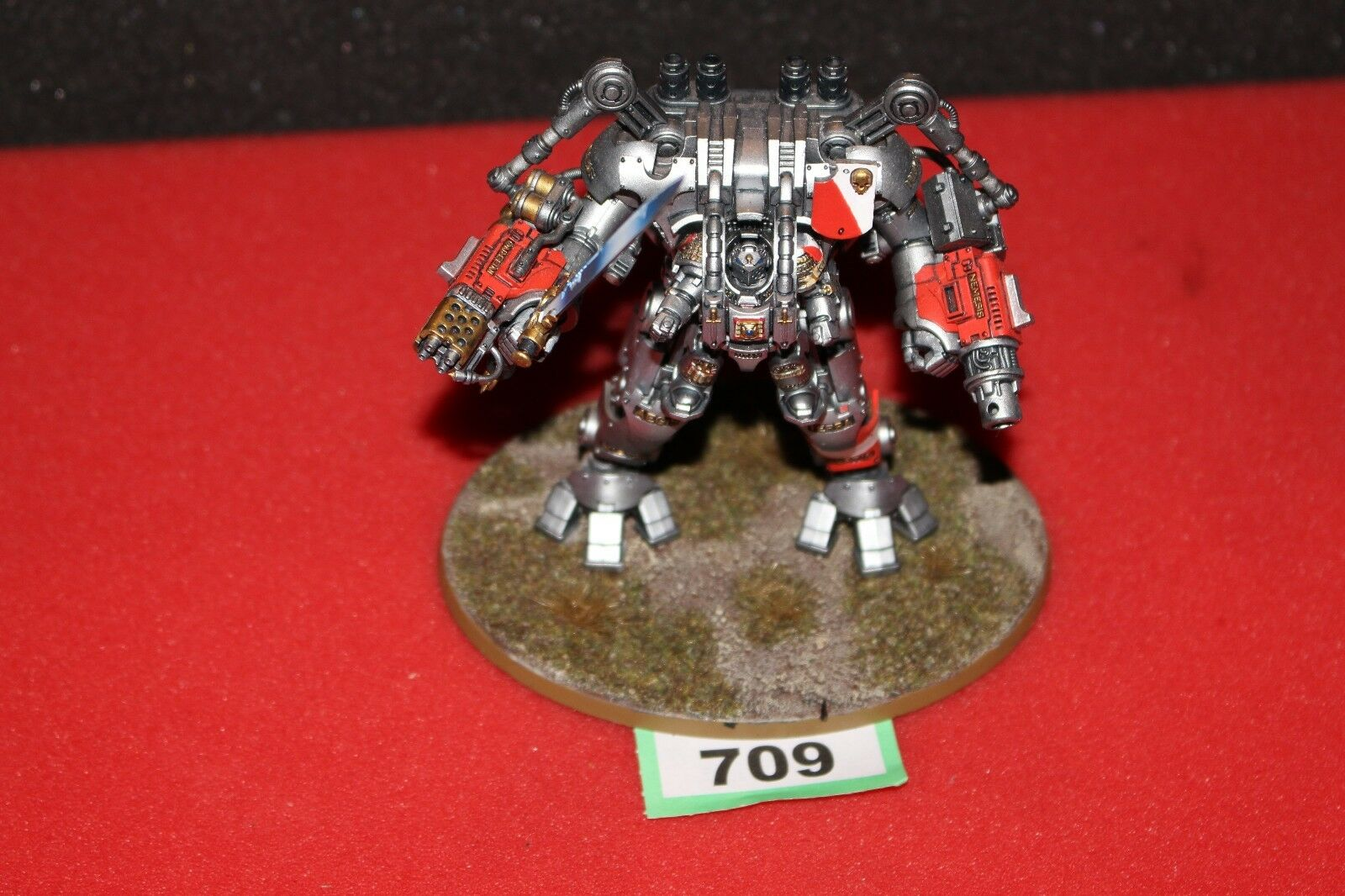 Games Workshop Warhammer 40k 40k 40k Grey Knights Nemesis Dreadknight Very Well Painted ef6230