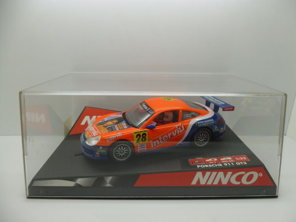 Ninco 50259 P911 GT3-R Interviu, mint car but used once