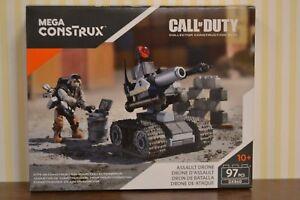PréCis Méga-construx Call Of Duty Assault Drone Dxb60 Nouveau & Neuf Dans Sa Boîte Correspondant En Couleur