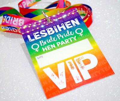 Colto Lesbihen Nubilato Vip Pass Cordini-sposa Pride Lesbica Gay Gallina Fare Favori-mostra Il Titolo Originale Vendite Economiche 50%