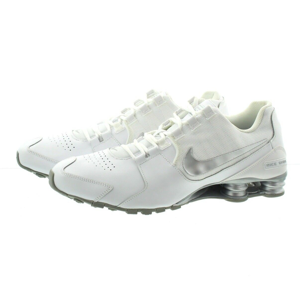 Nike 833584 100 Mens Shox Avenue Classic Leather Running Running Running shoes Sneakers ebca7e