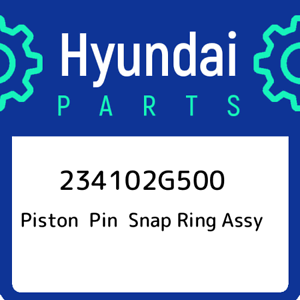 23410-2G500 Genuine OEM 234102G500 PISTON /& PIN /& SNAP RING ASSEMBLY for Hyundai Kia