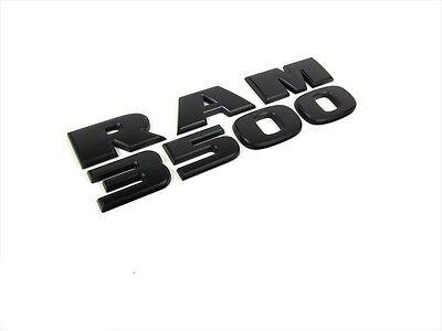 2005-2016 DODGE RAM 2500 FRONT FENDER TAILGATE LETTERING EMBLEMS SET CHROME