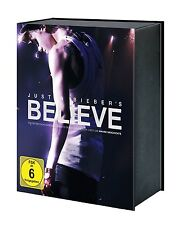 Justin Bieber's Believe - Limited Fan Edition, DVD, Blu-ray, CD, Extras NEU +OVP