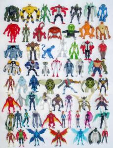 Ben 10 Action Figures 10cm - Scelta Di Ultimate,Alieno Force,Omniverse Set,Lot