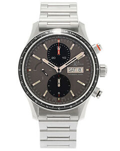 Ball-Fireman-Storm-Chaser-Pro-Chronograph-Automatic-Men-039-s-Watch-CM3090C-S1J-GY