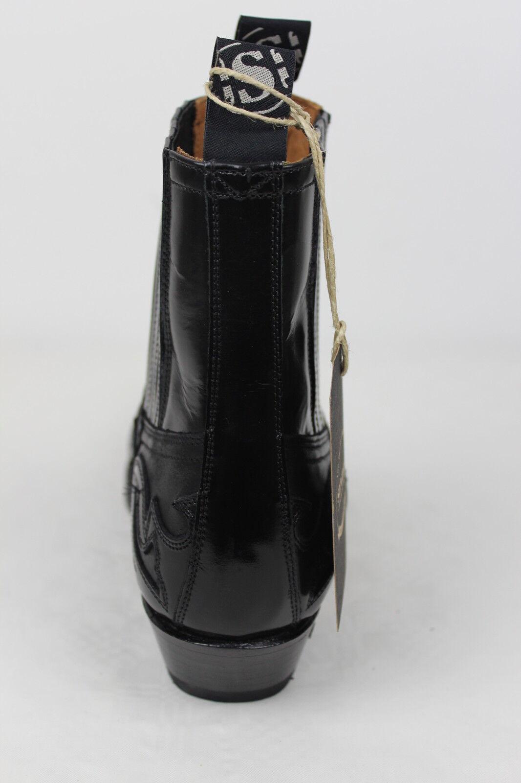 Sendra Boots Boots Boots Cowboystiefel Westernstiefel  4660 Schwarz b8e397