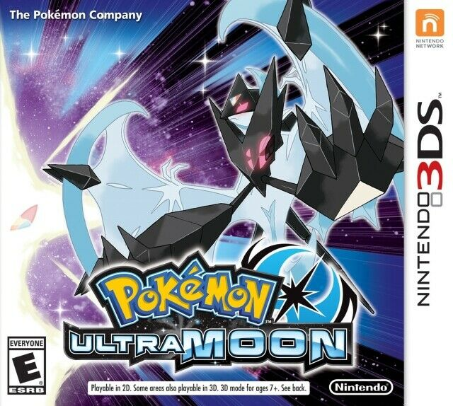 Pokemon Ultra Moon Nintendo 3DS Great Condition Fast Shipping