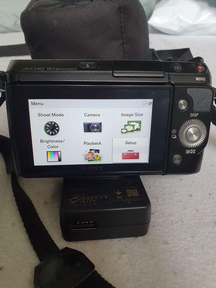 Sony, Nex-F3, 16.1 megapixels