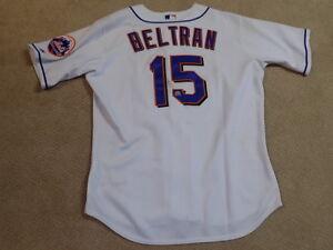 Details About Carlos Beltran Game Worn Jersey New York Mets Mlb Steiner