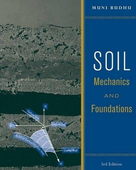 NEW 3 Days AUS Soil Mechanics and Foundations 3E Muni Budhu 3rd UK H/C Edition