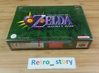 Nintendo 64 N64 The Legend Of Zelda Majora's Mask Neuf / Pal