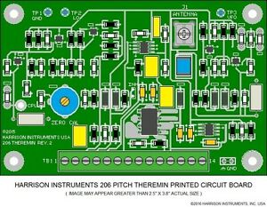 Harrison Instruments 206 Pitch Theremin Circuit Board