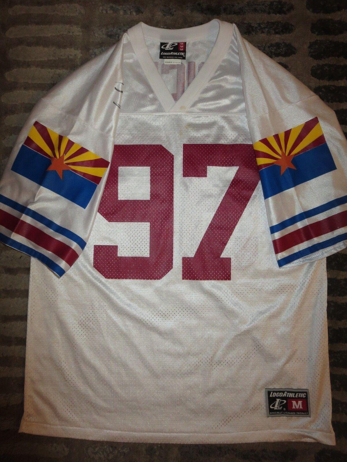 Simeon Rice Arizona Cardinals NFL Camiseta de Fútbol M Autógrafo Firmado