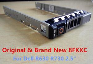 New-Dell-8FKXC-08FKXC-2-5-034-Hard-Drive-Tray-Caddy-PowerEdge-R730XD-R930-R430-R630