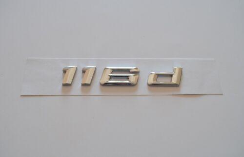 116d Schriftzug Typenschild Aufkleber für BMW Trunk Badge Nameplate