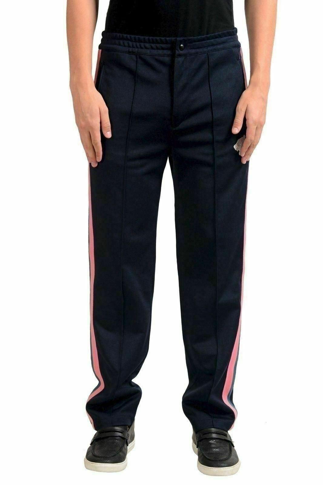 Just Cavalli Uomo Multicolore da Pista in Felpa Pantaloni USA M It 50