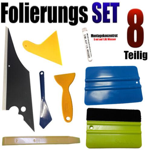 Vollfolierung Auto Folien Rakel Set 8 Teiligen Folierung Set