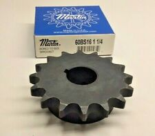 """1/"""" Bore USED Martin 60BS16 1 16T Sprocket"""