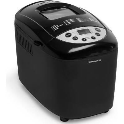 Andrew James Bread Maker Machine Automatic Dual Blade 850W Gluten Free Programme