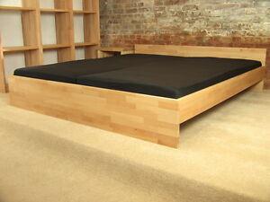 buche massivholz bett betten seniorenbett echtholzbett komfortbett kinderbett ebay. Black Bedroom Furniture Sets. Home Design Ideas