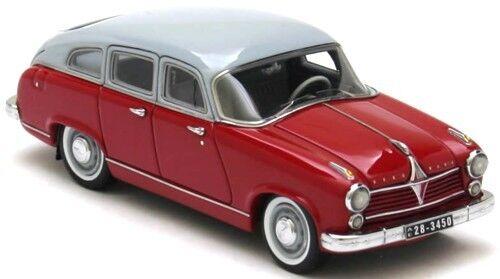 Borgward Hansa 2400 Rojo gris 1955 1 43 Neo 43450