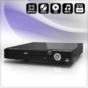 kompakter heimkino dvd cd mp3 multimedia player mit usb. Black Bedroom Furniture Sets. Home Design Ideas