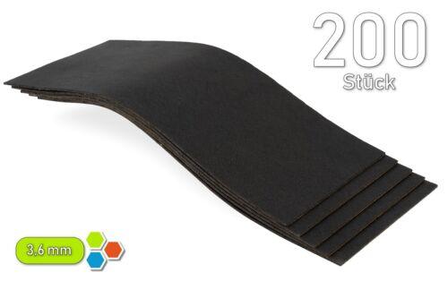 200 betún 3,6 mm antidröhn dämmmatte térmica//5m²//carrocería chapas-b3641