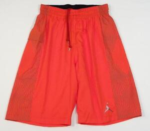 0fb771d5a68097 Image is loading Nike-Dri-Fit-Jordan-Jumpman-Orange-Basketball-Shorts-