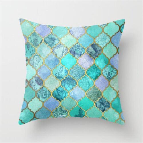 Modern Geometric Cushion Cover Home Sofa Bed Decoration Throw Waist Pillow Case