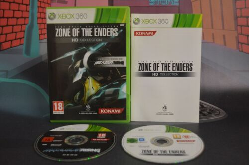Zone Of The Enders HD Collection Pal Esp Xbox 360