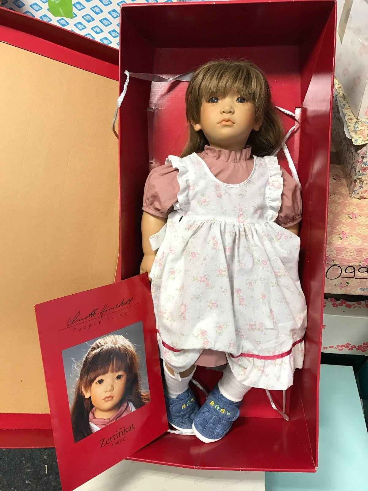 Annette Himstedt muñeca neblina 65 cm top estado