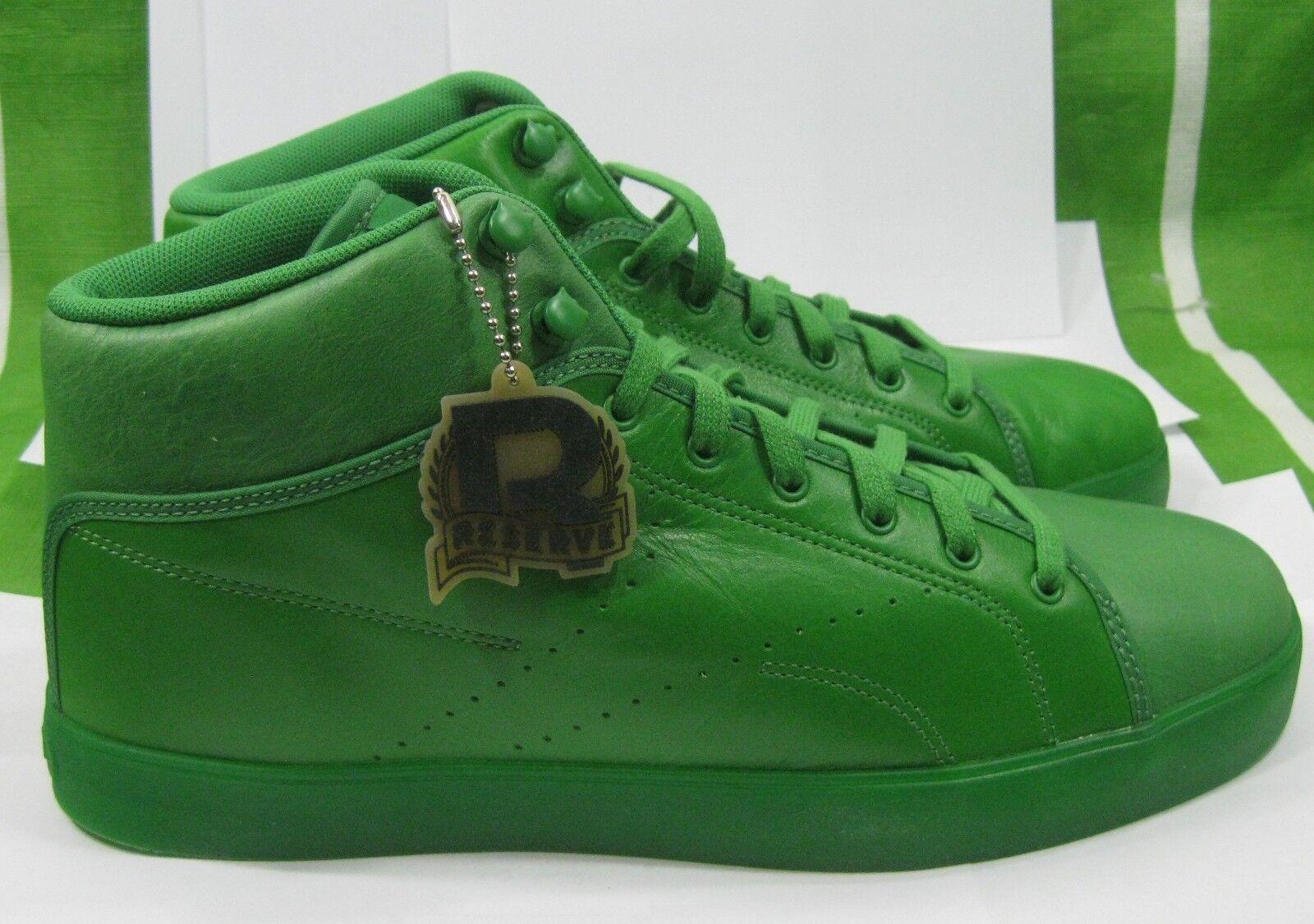 new Reebok Mens Casual Fashion Sneakers  J97765 GRAVITY GREEN  Size 9-9.5
