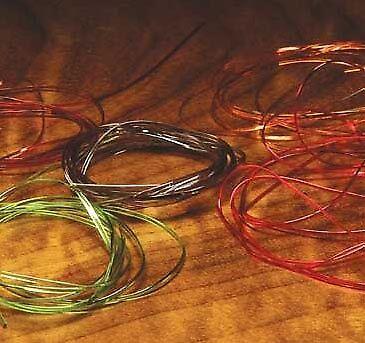 Hareline Half Round D Rib All Colors//Sizes