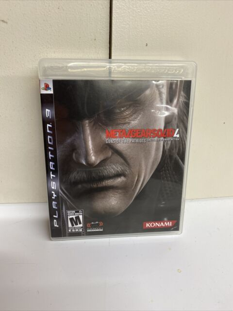 Metal Gear Solid 4: Guns of the Patriots (Sony PlayStation 3, 2008) Complete