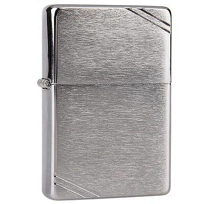 ZIPPO lighter BR FIN SLD BRSS Genuine Life Time Guarantee  USA