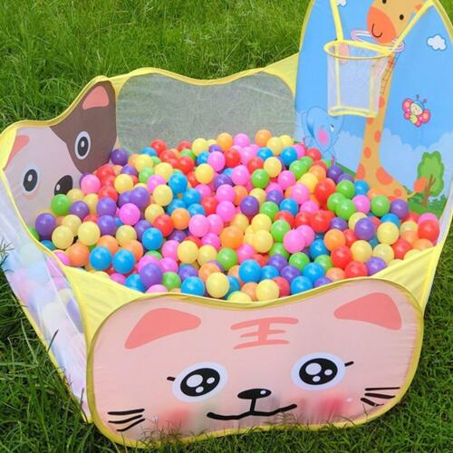 New Outdoor//Indoor Kids Game Play Tent Portable Children Toy Ocean Ball Pit Pool