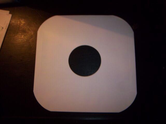 White Inner Sleeve for 12 Vinyl discs 10