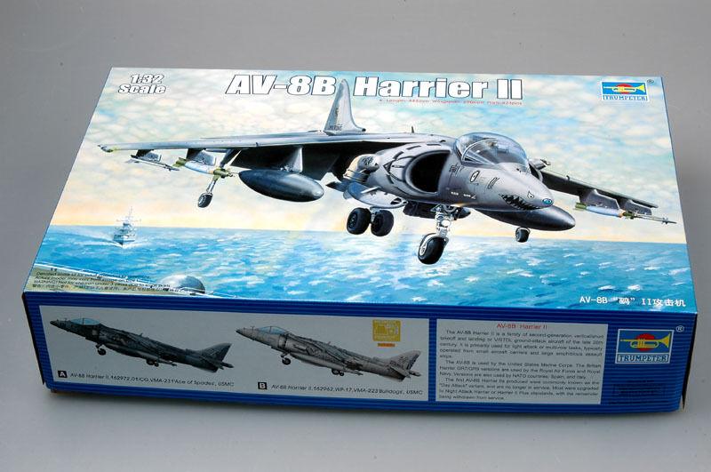 Trumpeter 1 32 02229 AV-8B Harrier II